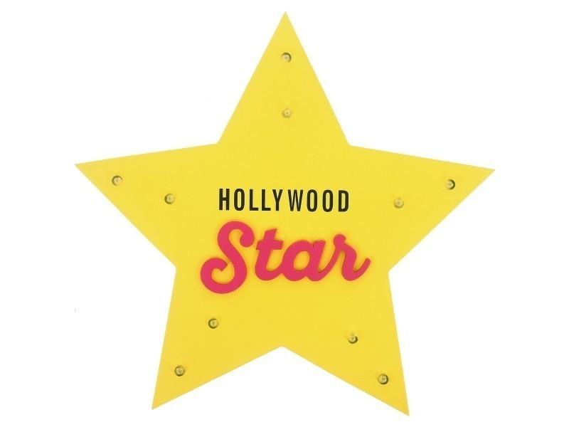 Suspendre Lumineux Panneau Américaine Etoile Led A Lampe Star wn80Nm