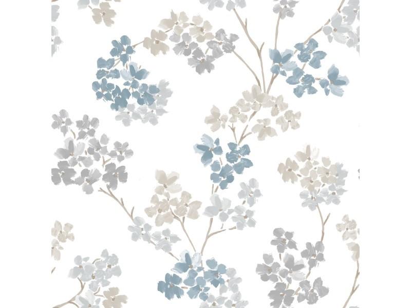 Papier peint intissé bailey 1005 x 52cm bleu 2258-41