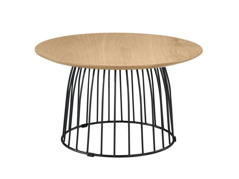 Table basse ronde pokka vente de table basse conforama - Table basse ronde conforama ...