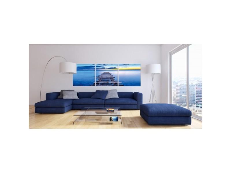 Tableau Verre Acrylique Photo Murale Ponton Ocean Vente De