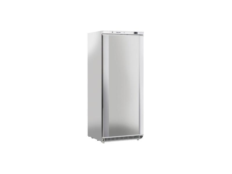 Armoire réfrigérée negative extérieur inox porte pleine - 600 l - cool head - r290 1 porte pleine