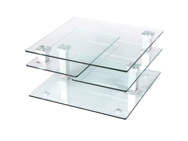 Vladia - table basse carrée
