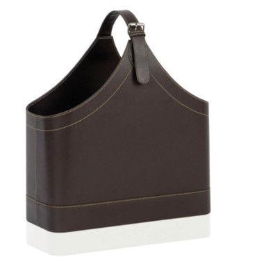 Porte revues cuir design vente de wadiga conforama - Porte revue conforama ...