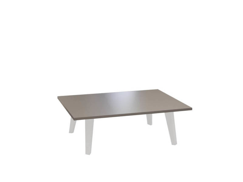 Table basse prism - taupe