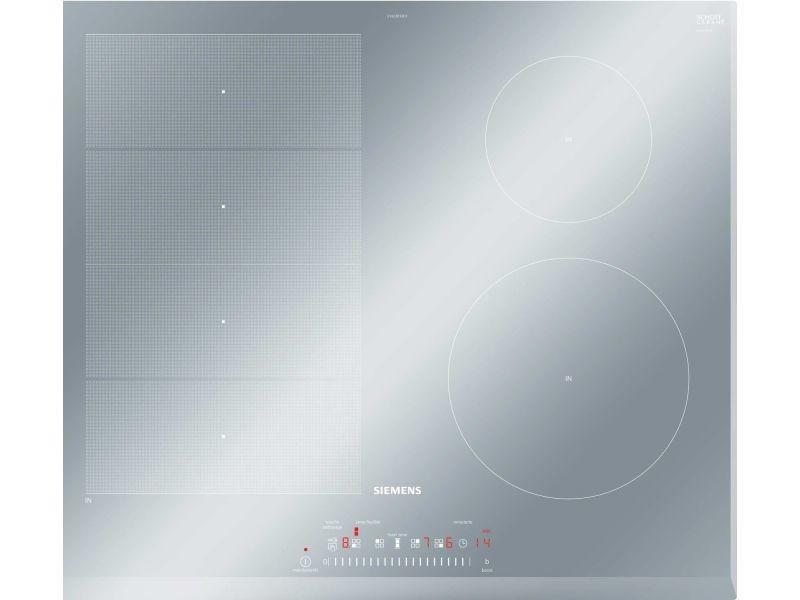 Table de cuisson vitrocéramique 60cm 4 feux 7400w noir - ex659feb1f SIEEX659FEB1F