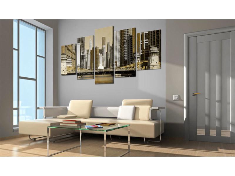 200x100 tableau new york villes magnifique new york