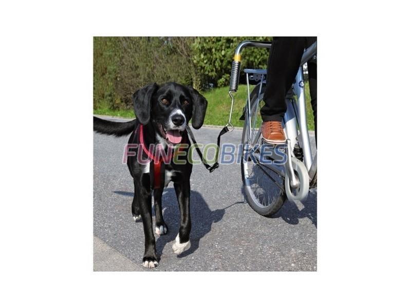 Laisse de vélo pour chien de trixie - biker set de luxe