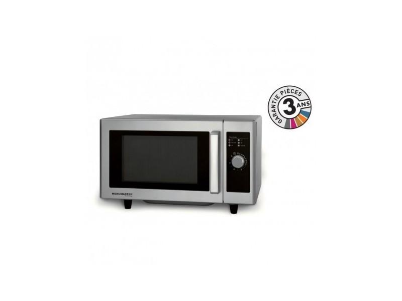 Four micro-ondes professionnel - 23 l - 1000 w - rms510ds - menumaster - 2300 cl