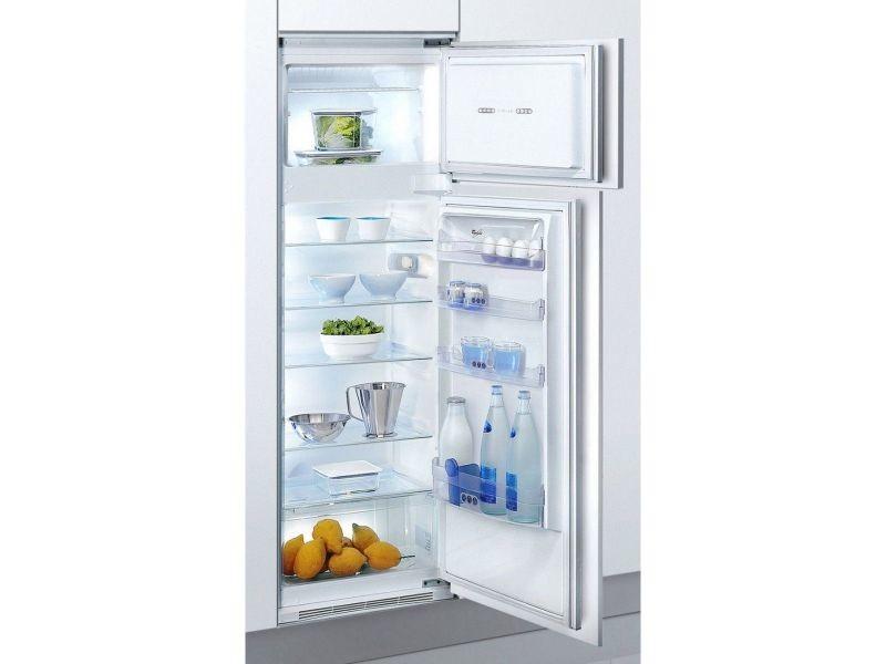 Combiné frigo-congélateur whirlpool integrable art 364/a+/5
