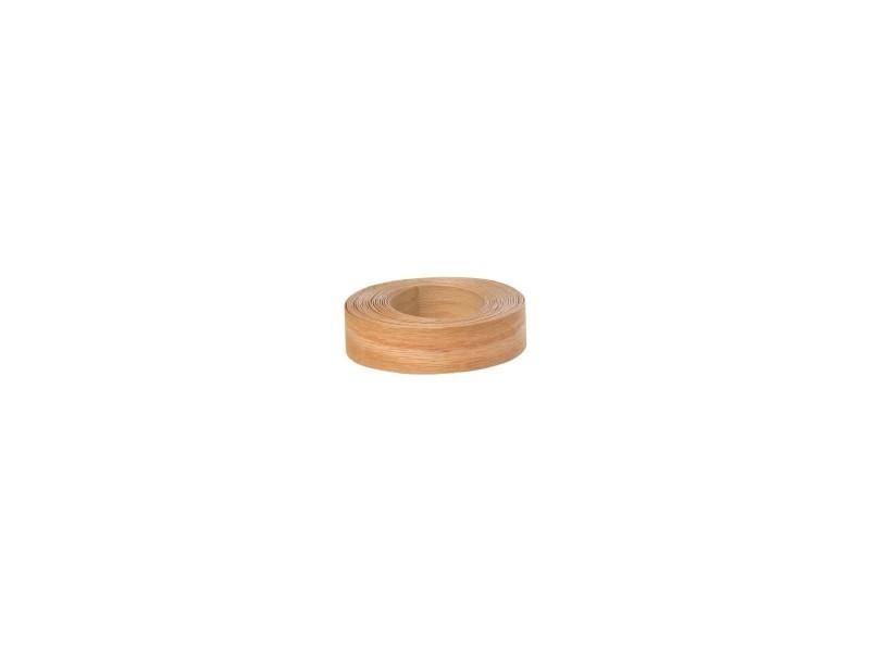 Chant bois de placage pré-encollé bg 23 mm x 5 m chêne 737151