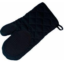 Gant de cuisine avec protection silicone collection cuistot noir