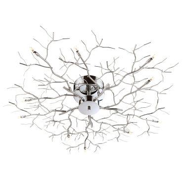 free plafonnier dco melyna argent en mtal vente de keria luminaires conforama with luminaire. Black Bedroom Furniture Sets. Home Design Ideas