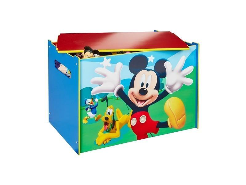 coffre jouets mickey mouse disney hellohome vente de. Black Bedroom Furniture Sets. Home Design Ideas