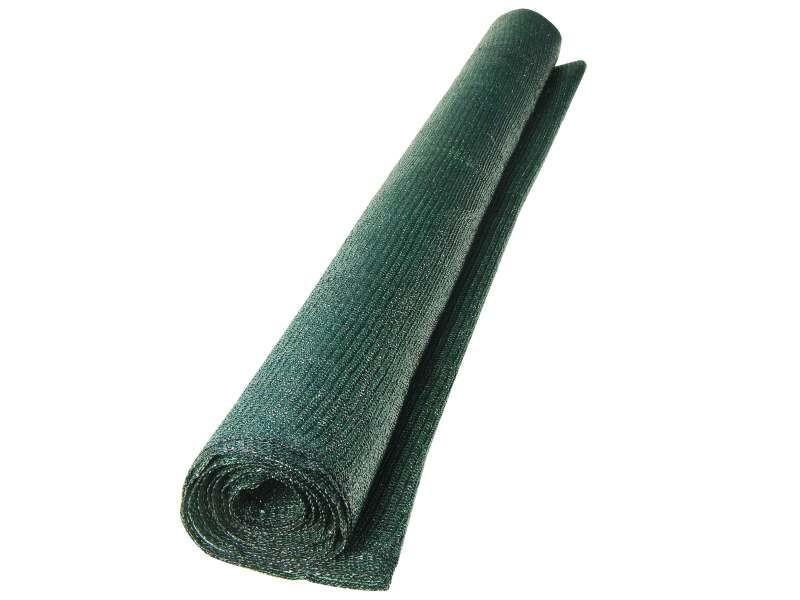 Occultants, clotûres 1,5m x 5m brise vue en polyéthylène vert très résistant, 80 g/m².idéal pour la