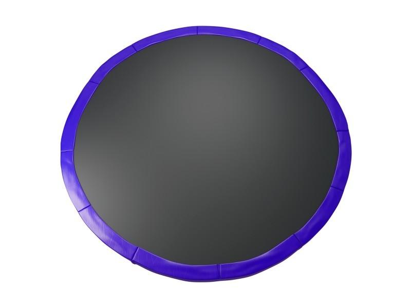 Coussin de protection des ressorts pour trampoline 14ft / 427 cm - bleu intense - pe