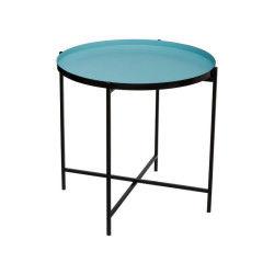 Table à café métal kylian bleu