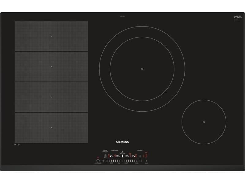 Table de cuisson induction 80cm 4 foyers 7400w noir - ex851fec1f ex851fec1f