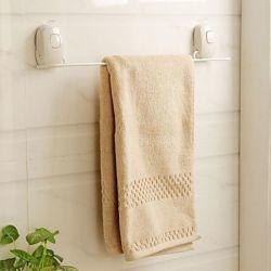 Porte-serviettes en plastique blanc