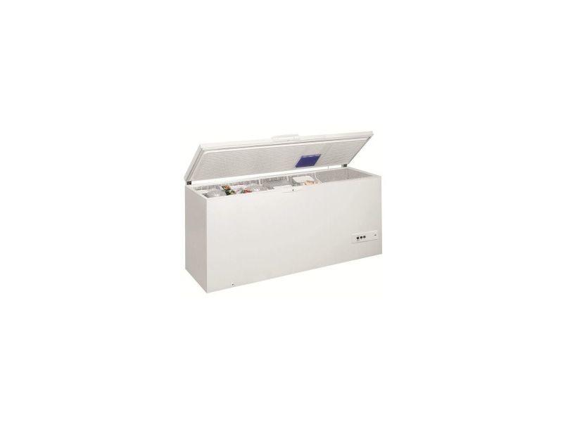 Congélateur coffre 140cm 454l a+ blanc - whm4611 whm4611