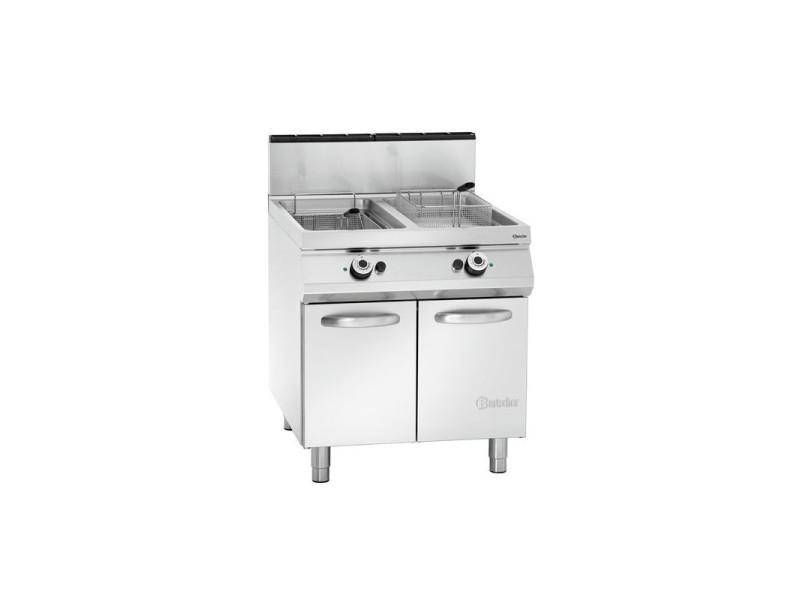 Friteuse à gaz - 2 x 20 litres - 36 kw - bartscher - 900