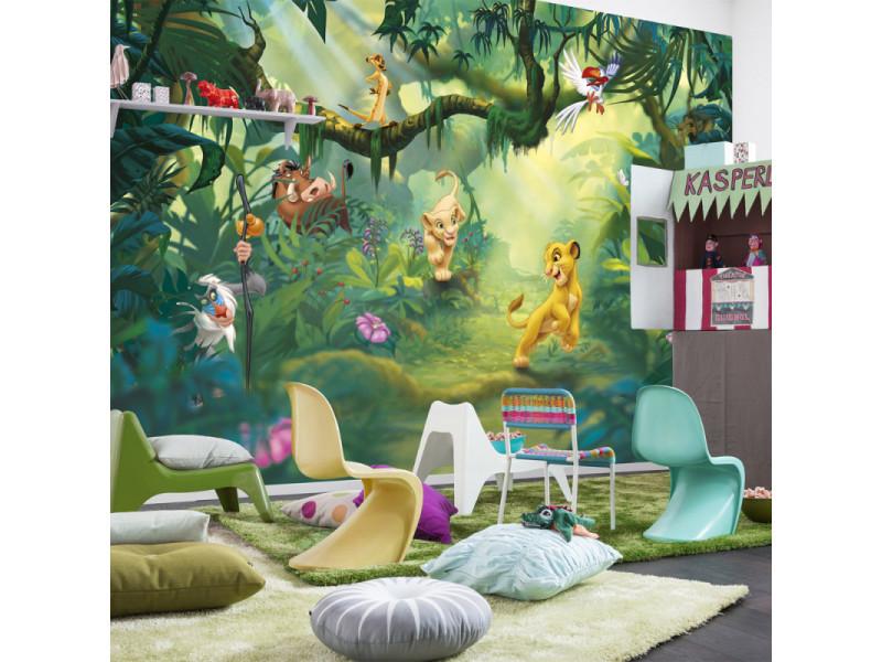 papier peint le roi lion disney vente de chambre compl te conforama. Black Bedroom Furniture Sets. Home Design Ideas