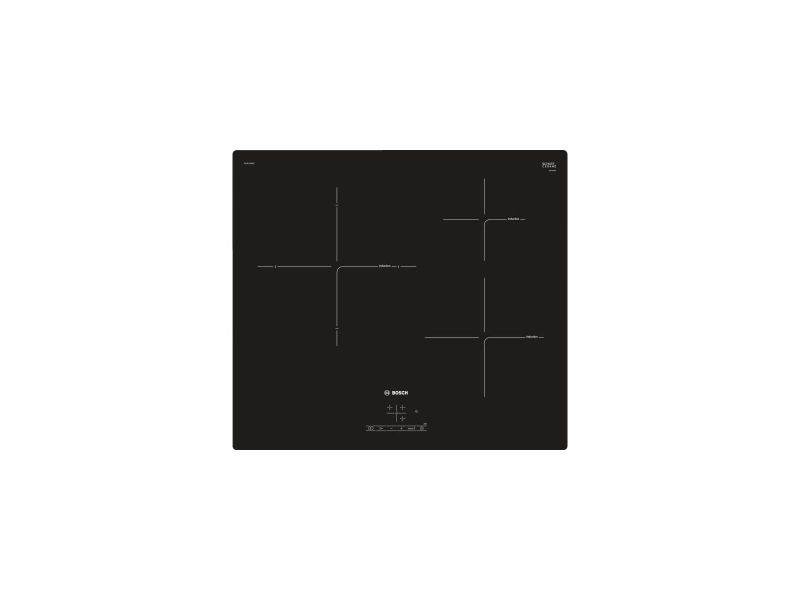 Table de cuisson induction 60cm 3 feux 4600w noir