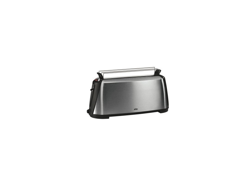 Grille-pains 1 fente 1000w inox - ht600 BRA4210201339625