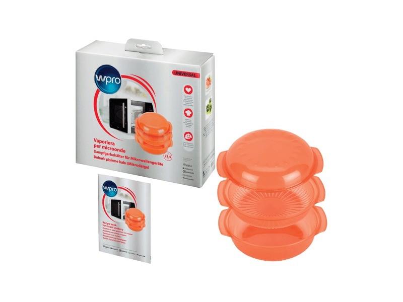 Plat vapeur - rond-orange (1.5 litres) pour accessoires outillages whirlpool - 482000006222