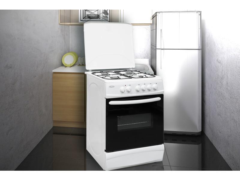 brandy best bcge60b cuisini re blanche 60cm 4 gaz four lectrique bcge60b vente de cuisini re. Black Bedroom Furniture Sets. Home Design Ideas