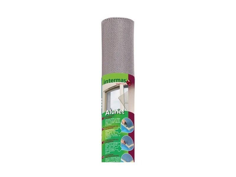 Toile moustiquaire aluminium 30m - 170560 170560