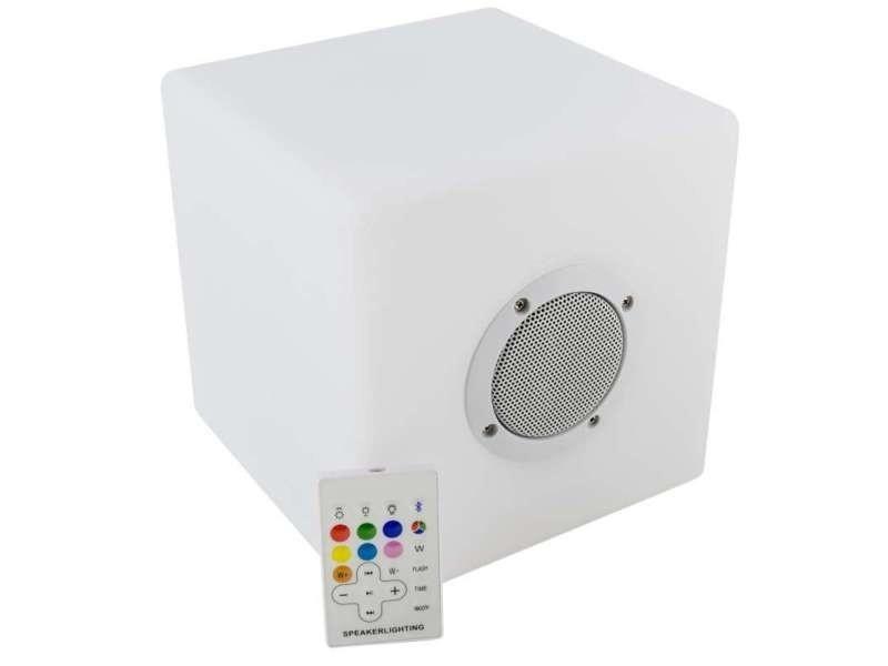 De Vente Bluetooth À Led Cube Et Couleurs Enceinte Variations fb6y7g