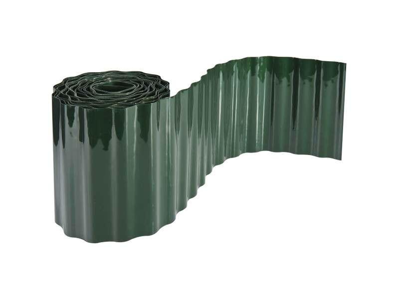 Mobilier de jardin et aménagement extérieur bordure de pelouse 20cm x 9m en pvc flexible. Délimite v