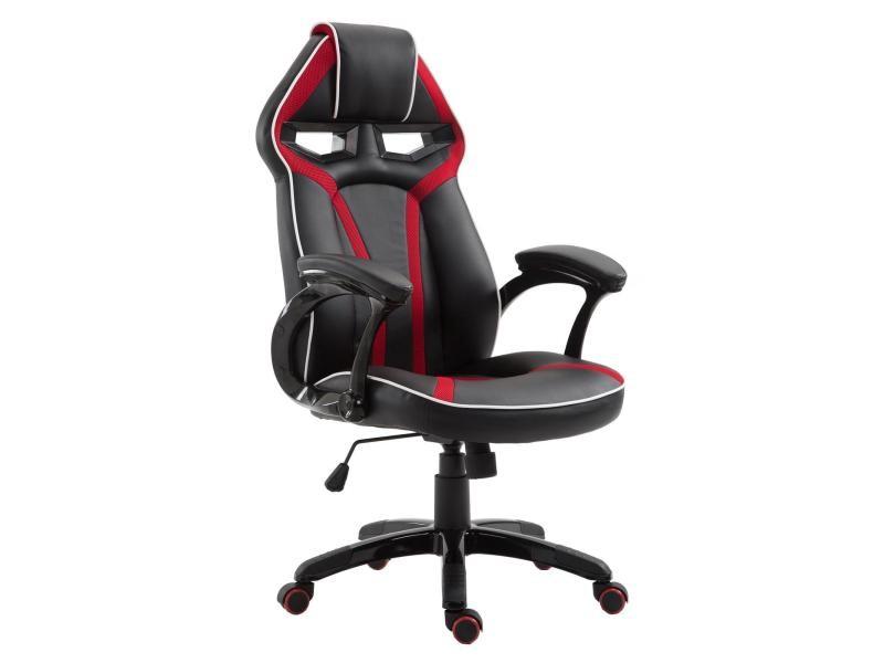 Chaise de bureau speedy fauteuil gamer chair style racing racer