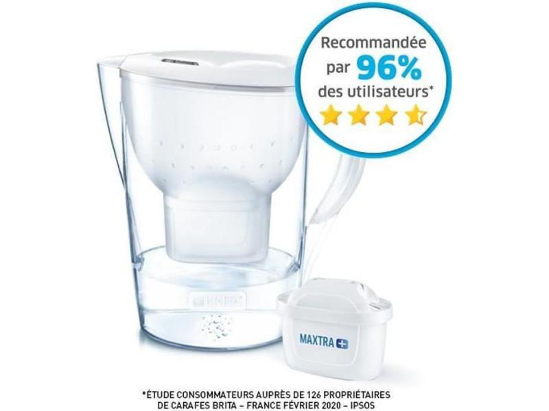 Carafe filtrante marella xl blanc + 1 cartouche de rechange BRI4006387076894
