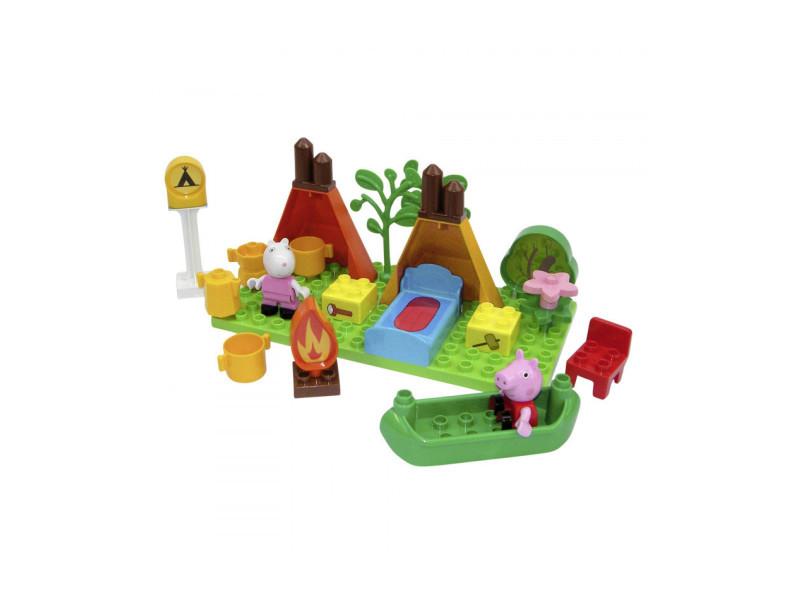 Play bloxx kit de camping de peppa pig DFX-438209