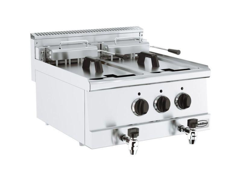 Friteuse professionnelle electrique 10 ou 20 litres - série 600 - combisteel - 600x600