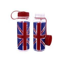 Bouteille d'eau ou gourde 500ml - design drapeau britannique par ted smith