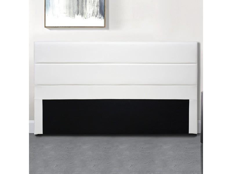 Tête de lit design ava - blanc - 160 cm