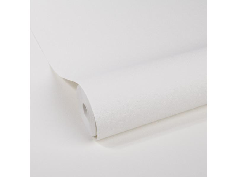 Papier peint intissé uni éclats 1005 x 52cm blanc 5673550