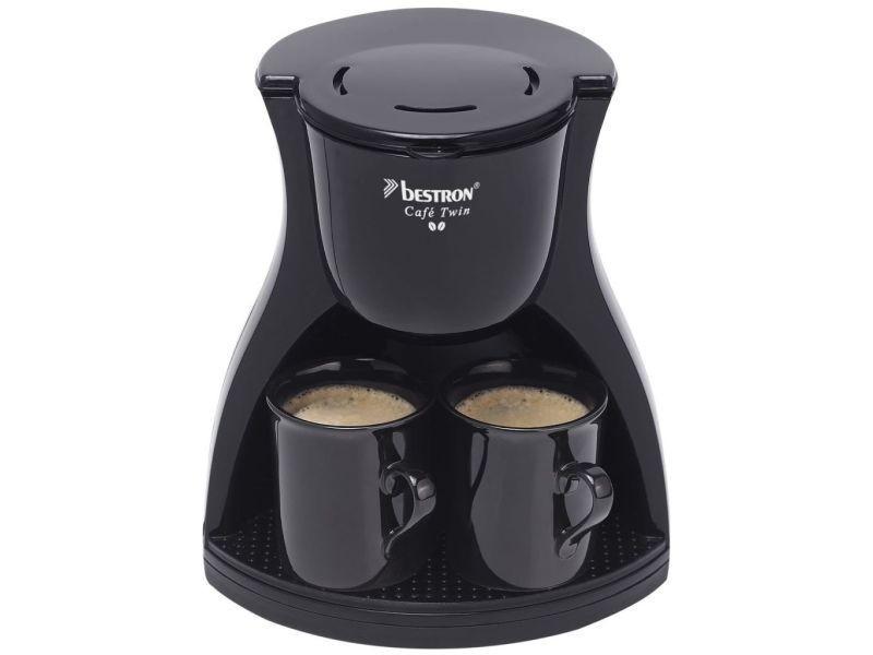 Bestron cafetière avec 2 tasses acm8007be 450 w 403343
