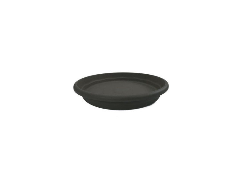 Plastiken plateau rond ø 70 cm pour pot rond - taupe