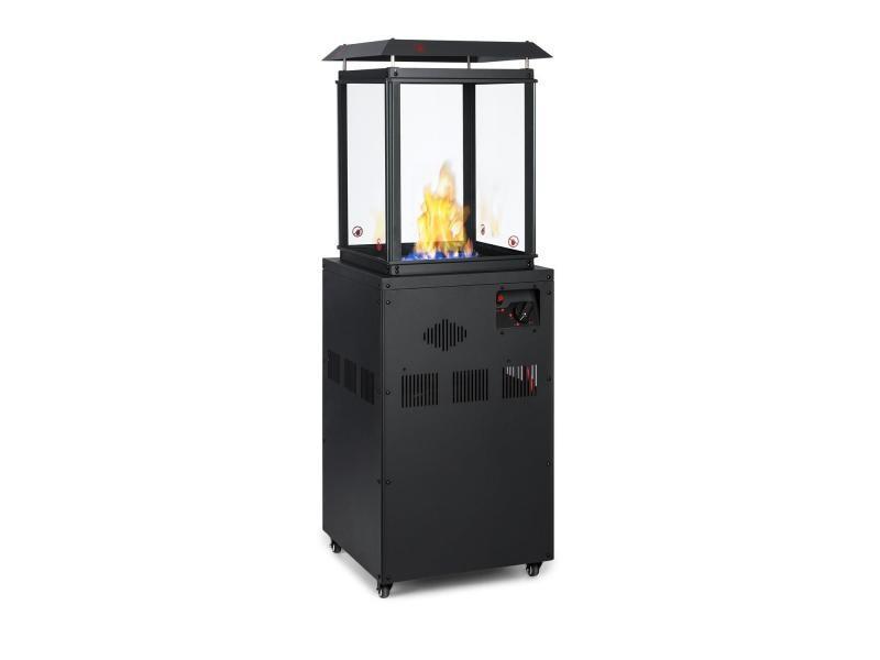 Blumfeldt flagranti - radiateur à gaz 8 kw bouteille de gaz jusqu'à 11 kg - inox noir HHG9-Flagranti
