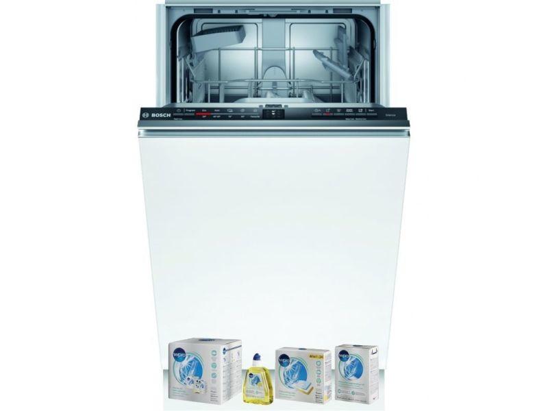Bosch lave-vaisselle tout intégrable encastrable 48db a+ 9 couverts 45cm ecosilence wi-fi
