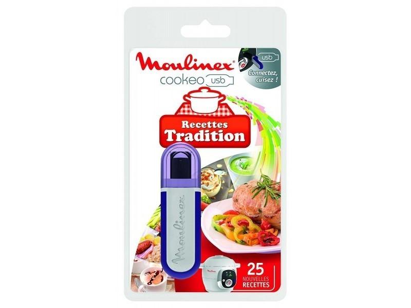 Moulinex clé usb cookeo 25 recettes traditions réf. Xa600211
