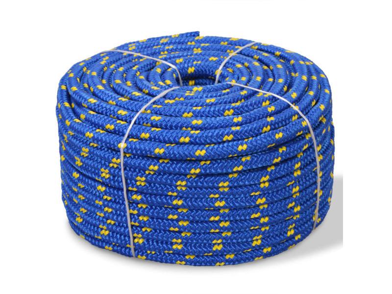Contemporain chaînes, câbles et cordes famille bissau corde de bateau polypropylène 16 mm 250 m bleu