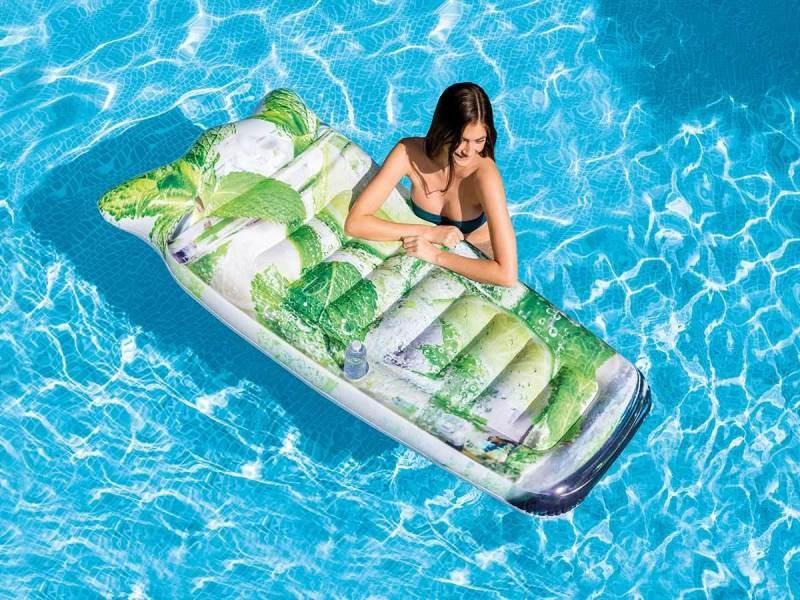 Matelas de piscine cocktail cubain - intex
