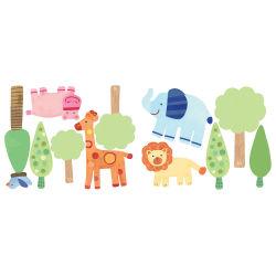 Stickers chambre bébé le zoo