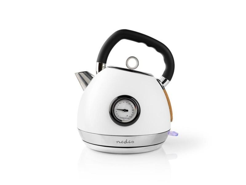 Bouilloire électrique | 1,8 l | soft-touch | blanche