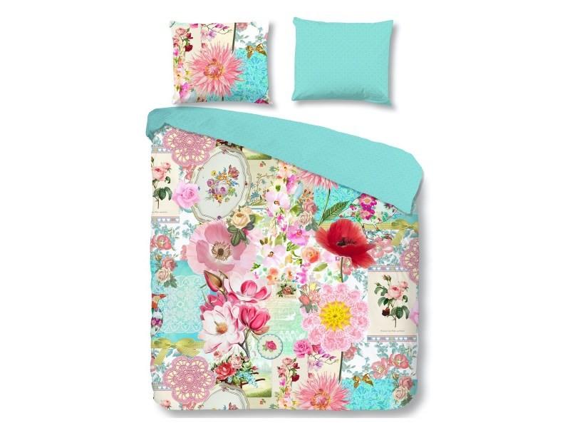 Parure de lit parfum fleuri - 220x240 cm