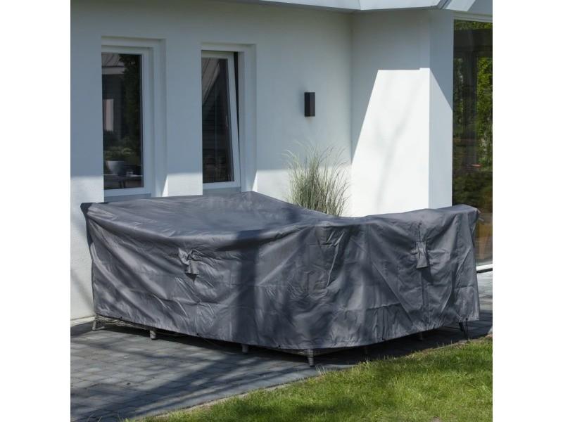 Icaverne - housses pour meubles d'extérieur edition madison housse de meubles d'extérieur 240 x 190 x 85 cm gris